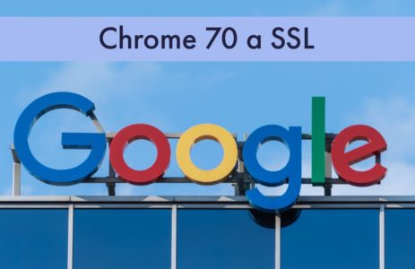 Chrome 70 a SSL